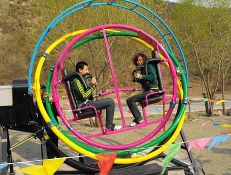A Unique Carnival Ride - The Human Gyroscope