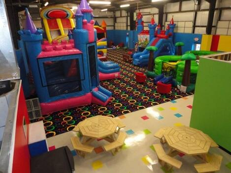 A World of Energy: Indoor Inflatable Playgrounds