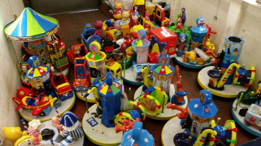 All About Coin-Operated Kiddie Rides For Sale