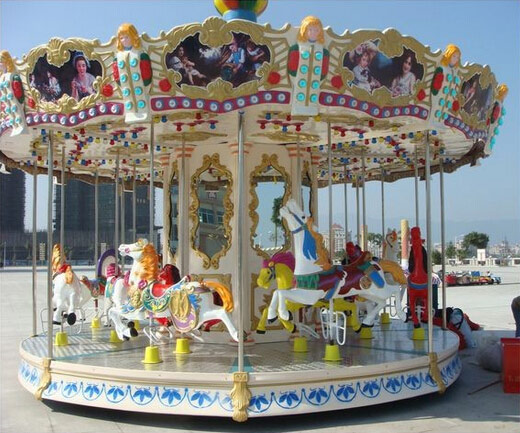 Going To Look At Amusement Carousels That Are For Sale