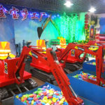 Amusement Park Diggers For Kids Offers Hours Of Entertainment!