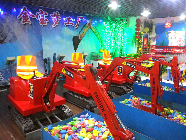Amusement Park Diggers For Kids Offers Hours Of Entertainment