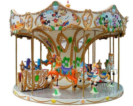 Amusement Park Small Carousels Are a Great Buy