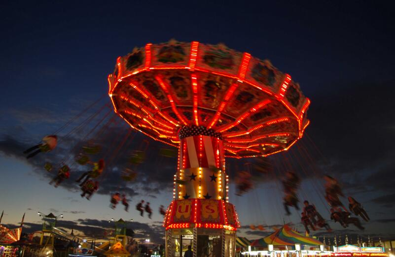 An Introduction To The Chair Swing Amusement Park Ride