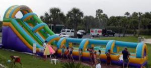 Big Inflatable Water Slides Are More Fun