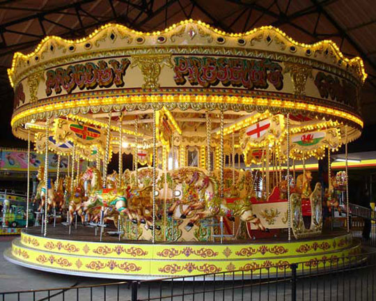 Buying Antique Carousel Horses for Your Home