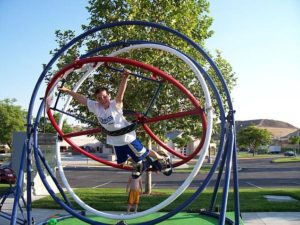 Different Source Of Fun The Human Gyroscope Ride