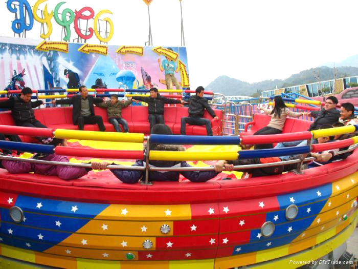 Discover The Fun And Interesting Disco Ride