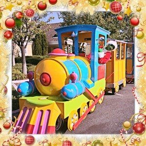 Electric Train Rides For Small Kids