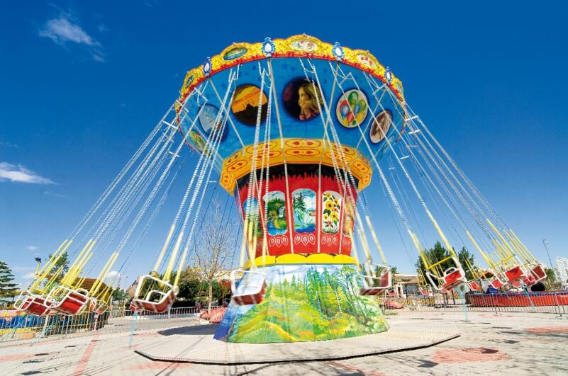 Flying Chair Rides For Carnivals - A Great Choice