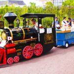 Gorgeous Amusement Park Trains