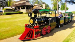 How A Trackless Train Ride Works?