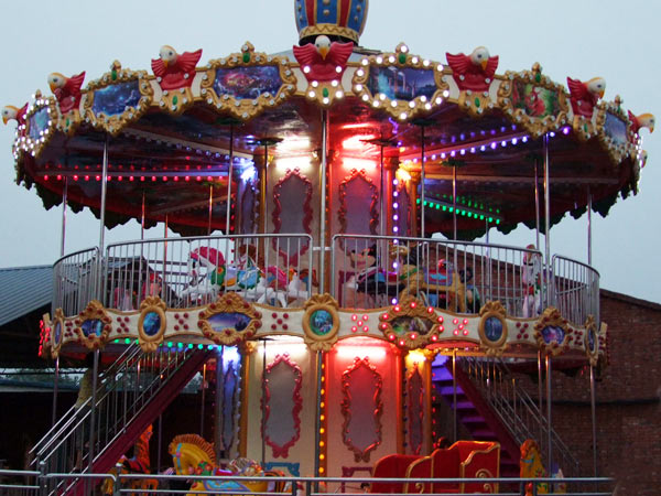 How To Buy Double Decker Carousels For Your Amusement Park