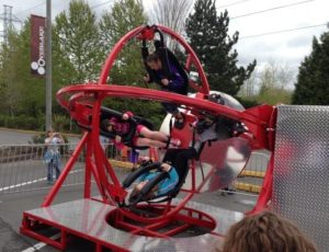 Human Gyroscope Ride - Ride A Aerotrim Today