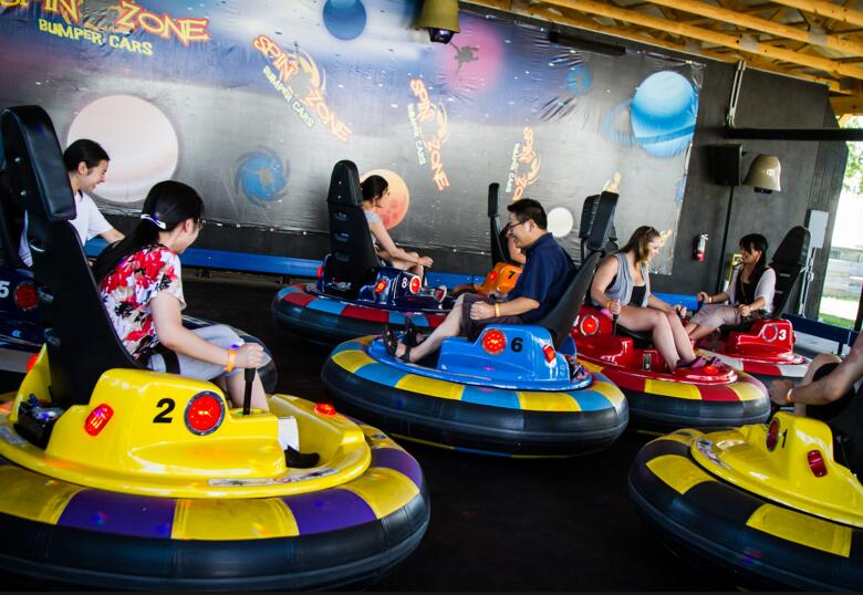Inflatable Bumper Cars Make A Great Party Addition Premium