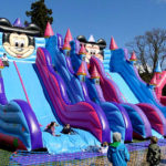 What Are The Advantages Of An Inflatable Double Slip And Slide?