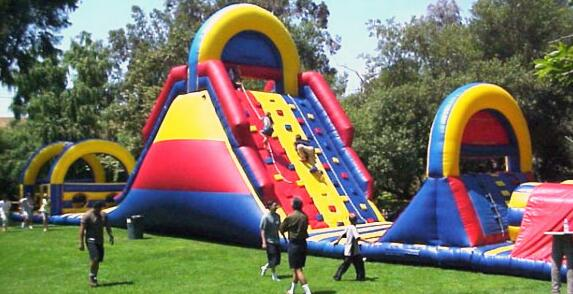 Curiously inflatable obstacle courses for adults very pity