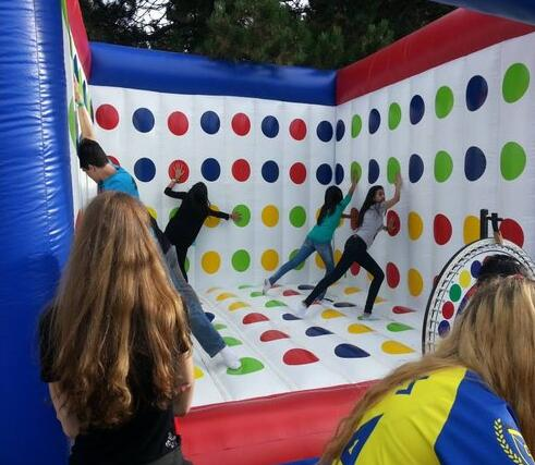 Inflatable Twister For The Ultimate Party Fun