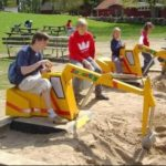 Kids Excavator Ride Provides A Great Option