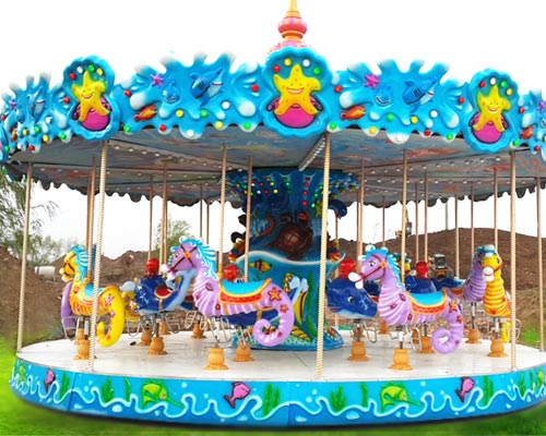 Renting Amusement Carousels and Merry Go Round Rides