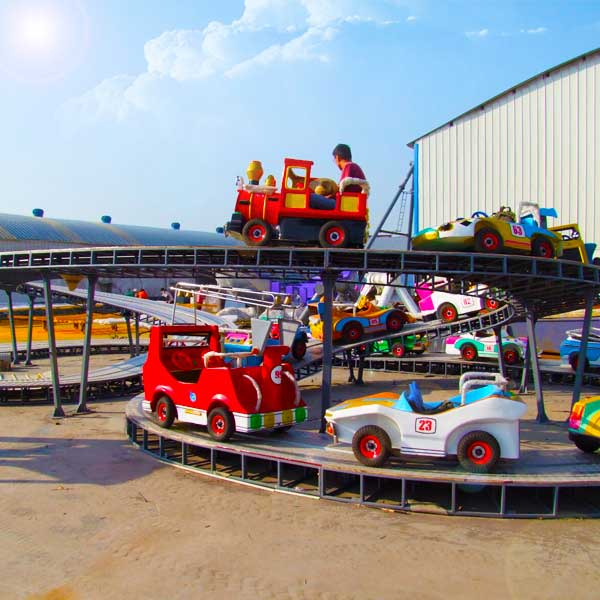 The Best Amusement Park Ride For Kids - A Mini Roller Coaster