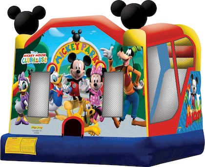 A Mickey Mouse Bounce House For Kids Is Sure To Be A Hit!