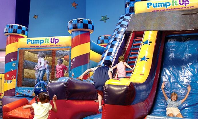 Pump Up The Jam - Bouncy Castle Fun For Everyone