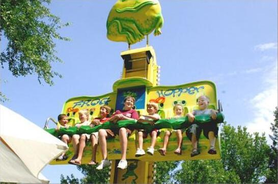 Renting Frog Hopper Rides for a Birthday Party