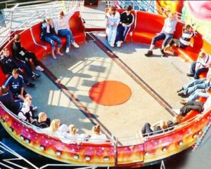 Take Your Kids On A Disco Ride At The Amusement Park