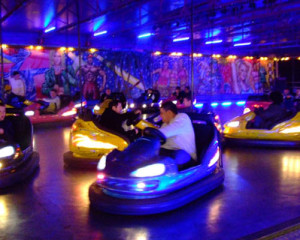 The Bumper Cars Are Where You Can Show Your Expert Driving Skills