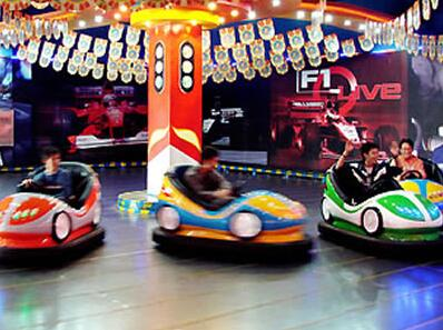 The Fun of Indoor Bumper Cars