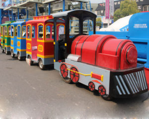 Why The Amusement Park Trackless Train Is A Hit