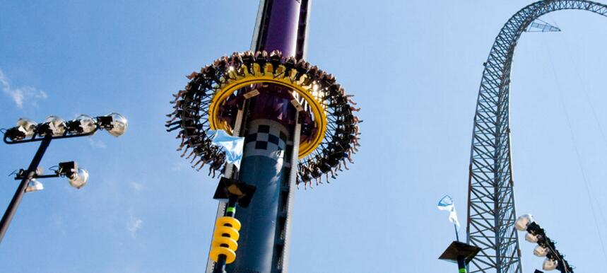 What is a Drop Tower Ride?