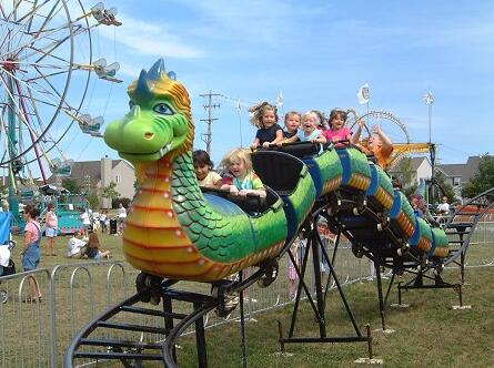 Why Get A Kids' Dragon Wagon Carnival Ride?