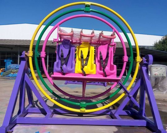 6-seat Human Gyroscope Amusement Rides for Sale
