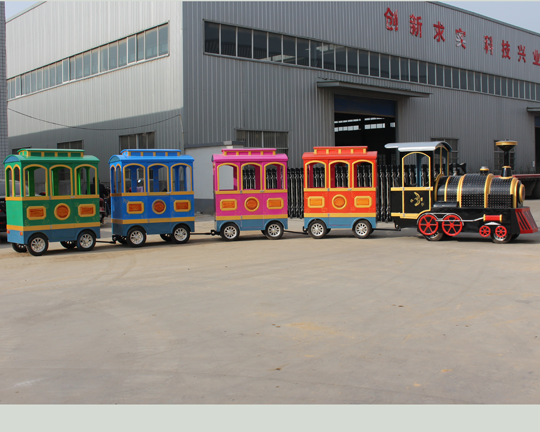 BAR-010 Trackless Tour Train for Sale in China