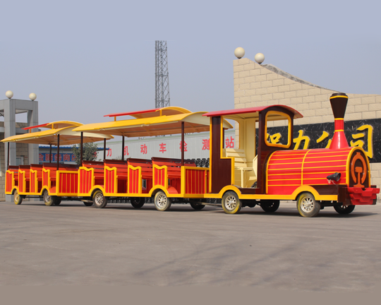 BAR-011 Electric Trackless Train for Sale