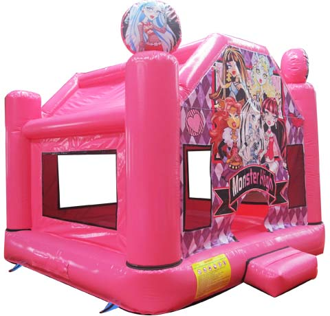 BBH-014 Monster High School Cheap Bounce Houses for Sale