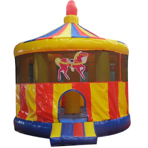 BBH-070 Carousel Inflatable Moonwalk for Sale