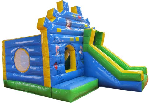 BBH-086 Palm Tree Inflatable Small Bounce House for Sale