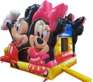 BBH-133 Mickey Mouse Inflatable Jump Houses with Slide for Sale