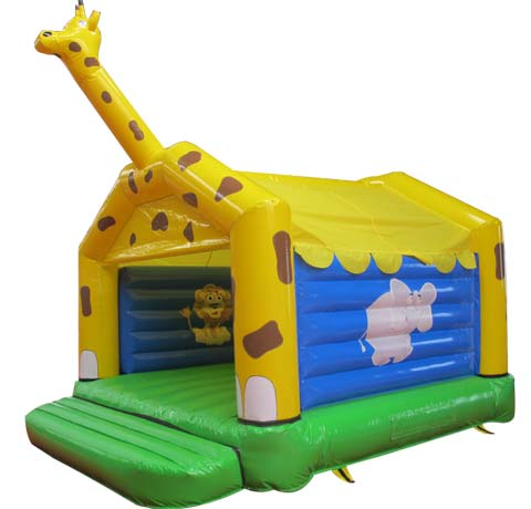 BBH-142 Girafe Inflatable Jumping House for Sale