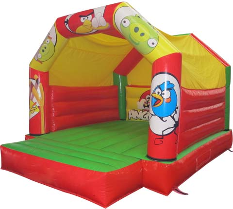 BBH-150 Angry Bird Inflatable Moon Bouncers for Sale