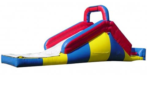 BIS-024 Inflatable Backyard Water Slides with Ball Pit for Sale