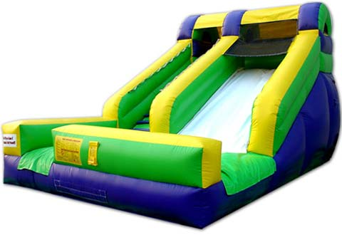 BIS-028 Super Splash Inflatable Backyard Water Slides for Sale