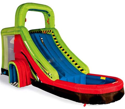 BIS-030 Giant Inflatable Water Park Slide for Children for Sale