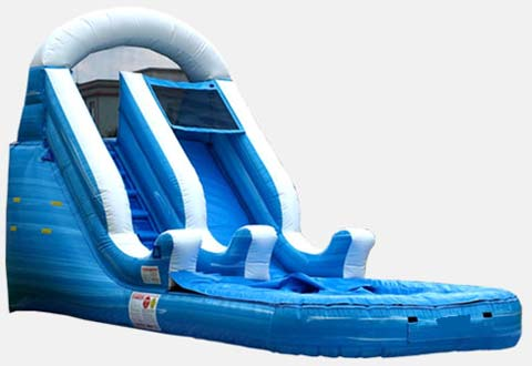 BIS-035 commercial grade Backyard Waterslide for Sale