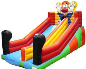 BIS-036 Cartoon Clown Backyard Water Park Slide for sale