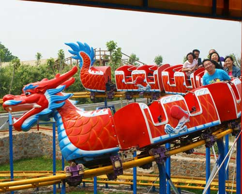 Beston Sliding dragon roller coaster for kids