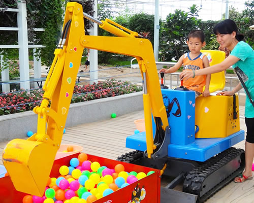 Beston balls kids excavators for sale